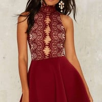 Rare London Hold Court Lace Dress