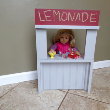 Lemonade Stand for American Girl Doll & 18-in Dolls