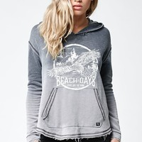 Billabong See The Light Pullover Hoodie - Womens Hoodie - Black