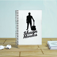 Shawn Mendes 3 Photo Notebook Auroid