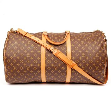 Louis Vuitton Keepall 60 Weekend/Travel Bag 5594 (Authentic Pre-owned)