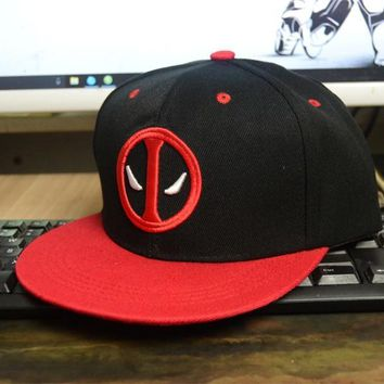 Deadpool Dead pool Taco 3 Styles Fancy&Fantasy Anime Comic Marvel  Hip Hop Caps Summer Cotton Cap Hat For Men Women AT_70_6