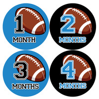 Baby Boy Monthly Milestone Age Stickers Style #1005