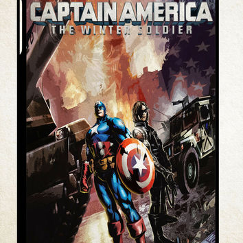 captain america winter soldier X1019 iPad 2 3 4, iPad Mini 1 2 3, iPad Air 1 2 , Galaxy Tab 1 2 3, Galaxy Note 8.0 Cases