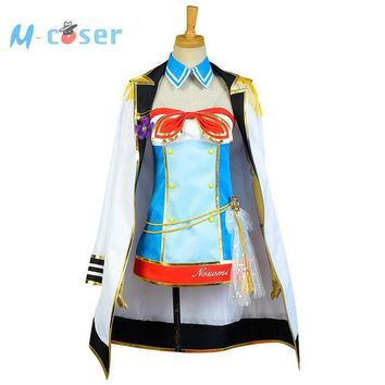 ICIKHY9 LoveLive Sailor Costume Love Live Tojo Nozomi Navy Uniform Girls Marine Anime Halloween Cosplay Costumes For Women