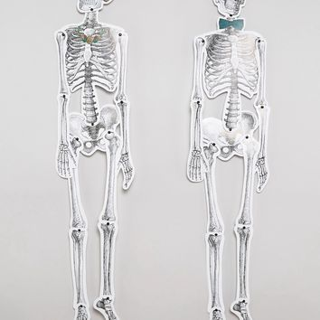 Talking Tables Halloween Me & Mrs Skeleton Decorations