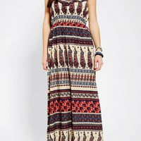 Urban Outfitters - Band Of Gypsies Boho Print Maxi Dress
