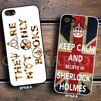 they are not only book leopard & keep calm and believe sherlock