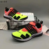NIKE AIR presto Fashion Trending Running Sports Shoes Orange-Green G-A36H-MY