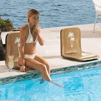 Folding Poolside Seat - Frontgate