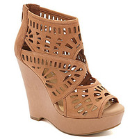 Gianni Bini Lanah Laser-Cut Wedges | Dillards.com