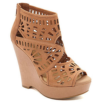 Gianni Bini Lanah Laser-Cut Perforated Wedges - B