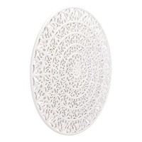 A11052 Mandala Wall Decor White