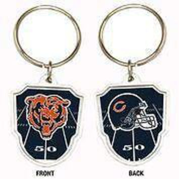 Great American Products NFL Chicago Bears Team Logo Keychain Steel