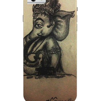 Ganesh Ji Illustration iPhone 6 / 6S Case Cover