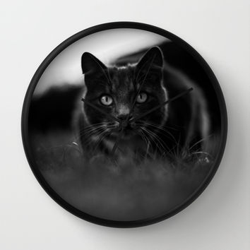 Carnivore Wall Clock by HappyMelvin