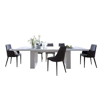 "Tundra 79"" Extendible Dining Table w/ Extension 056040-TUNDRA79E"