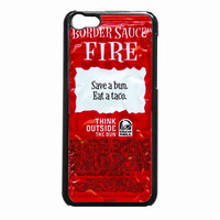Taco Bell Sauce Fire b887e738-19a9-4628-b65d-a7c3d3eb3b1d FOR iPhone 5C CASE *NP*