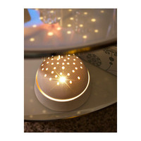 IKEA STRALA LED Decoration lamp/globe/dome rotary Star Ceiling Projection party on eBay!