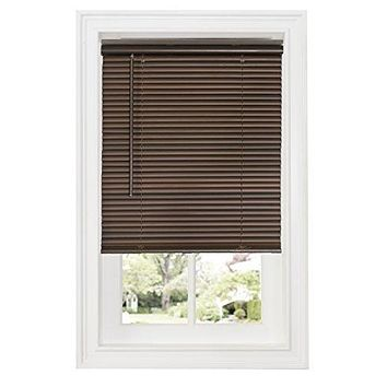 Ben&Jonah Collection Cordless GII Deluxe Sundown 1 inch  Room Darkening Mini Blind 29x64 - Mahogany