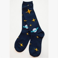 Outer space keen socks fox keen socks robot keen socks from daisyshop