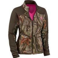 Legendary Whitetails Women's Timber Creek EVO Camo Soft Shell Jacket