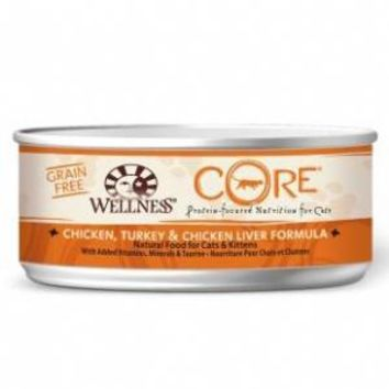 Wellness Core Chicken Turkey Chicken Liver Cat Food