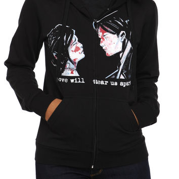My Chemical Romance Demo Lovers Girls Zip Hoodie