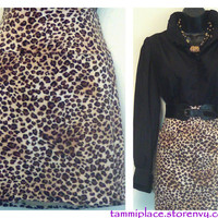 Cheetah Print Skirt from Tammi's Place