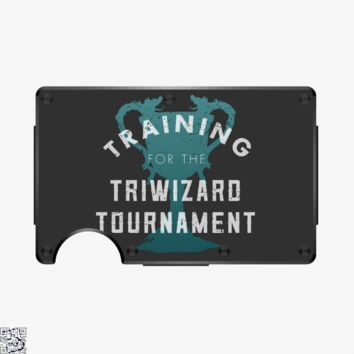 Training Triwizard Tournament, Harry Potter Metal Wallet