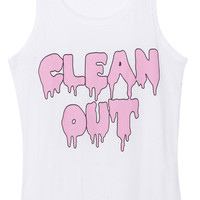 "ROMWE | Melting Pink ""Clean Out"" Vest, The Latest Street Fashion"