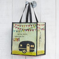 Camper  Recycled  Tote  Bag  From  Natural  Life