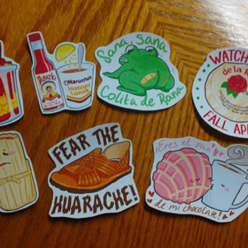 Growing Up Mexican Stickers