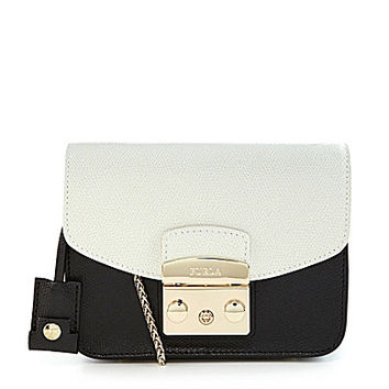 Furla Metropolis Colorblocked Mini Cross-Body Bag | Dillards.com