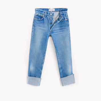 Relaxed Crop Vintage Levis Jeans