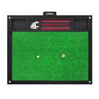Washington State Cougars NCAA Golf Hitting Mat (20in L x 17in W)