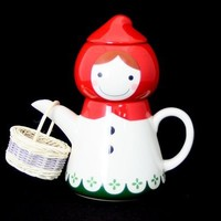 Little Red Riding Hood Tea For One - Teapot