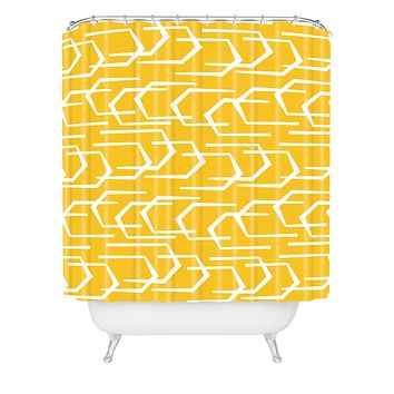 Heather Dutton Going Places Sunkissed Shower Curtain