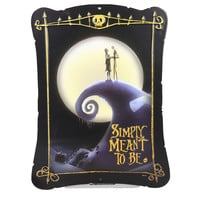 The Nightmare Before Christmas Simply Meant To Be Tin Sign