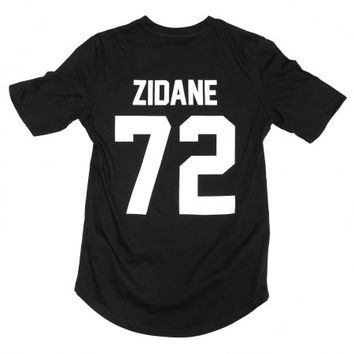 Zidane 72 Legends Shirt Black - BALR.