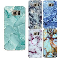 Marble Image Coque Case For Samsung Galaxy S3 S4 S5 S6 S7 Edge S8 Plus J2 J3 J5 A3 A5