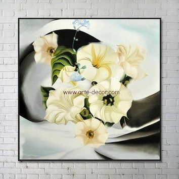 A Swirl of Elegance Canvas Painting