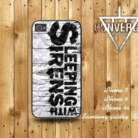 iPhone4/4S 5,Samsung Galaxy S2/S3 case- Sleeping With Sirens