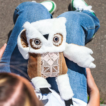 Preston Owl, soft toy by  Wassupbrothers