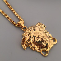 Gift Stylish Shiny Jewelry New Arrival Hot Sale Hip-hop Club Necklace [6542785731]