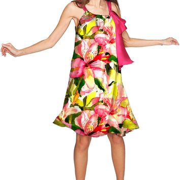 Havana Flash Melody Summer Chiffon Dress - Women