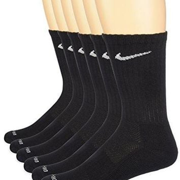NIKE Dry Cushion Crew Training Socks (6 Pair)