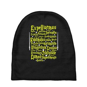 Expelliarmus Harry Potter Spell Baby Beanies