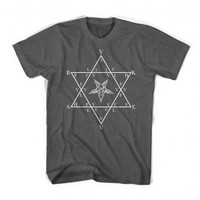 TRILOGY GRAPHIC T-SHIRT GREY