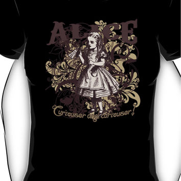 Alice In Wonderland Carnivale Style Women's T-Shirt